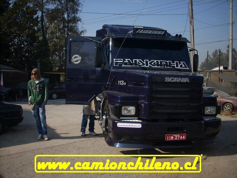SCANIA 113 Brasilero enchulado « CamionChileno.