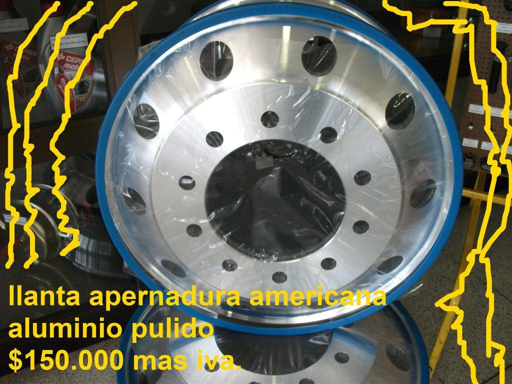 Llantas 22 5 americana aluminio pulido - Pulir llantas de aluminio a espejo ...