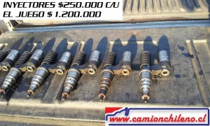 SCANIA INYECTORES