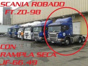 SCANIA ROBADO